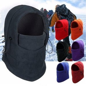 Thermal Fleece Bandana Men Women Neck Warmer Hat Cycling Face Mask Cap Ski Bike Mask Balaclava Sport Running Cycling Hiking Scarves