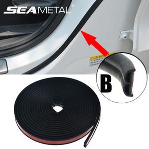 Car Door Seal Bandes bord universel en caoutchouc Joint d'étanchéité Soundproof Autocollants Auto Trim Trunk autocollant sur la voiture marchandises Accessoires