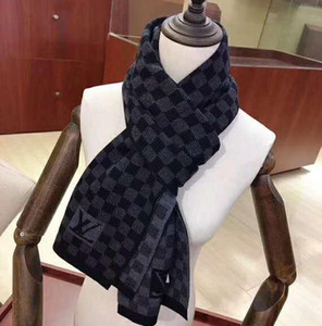 écharpe en cachemire pour en cachemire écharpe tricot écharpe en laine de haute qualité douce hommes 180x30cm