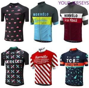 Shirt NOVO 2020 Verão Morvelo Ciclismo Jersey de Homens de manga curta MTB MX Ciclismo shirt da bicicleta Roupa de bicicleta Roupa Ropa Ciclismo