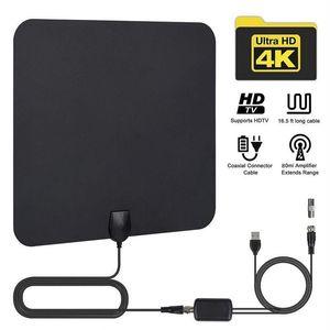 HDTV-Antenne Indoor-TV-Antenne auch kompatibel mit 720p, 1080i, 1080p, ATSC Amplifer Digital-Antenne