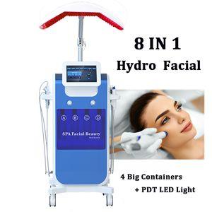 Aparato de mesoterapia sin aguja Rejuvenecimiento de la piel Hydro Microdermabrasión Hydra Machine O2 Tratamiento facial Mesoterapia Terapia Cuidado de la piel
