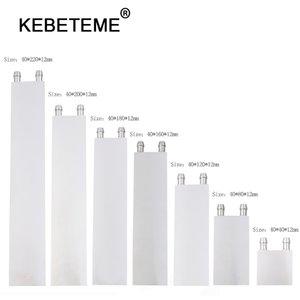 I fan economici KEBETEME primaria di alluminio Water Block System dissipatore di calore di raffreddamento per PC CPU del computer portatile per Liquido all'ingrosso (Can raffreddamento