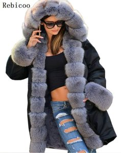 Camouflage uniforms artificial fur collar hooded women's Parker coat warm coat autumn and winter cotton army
