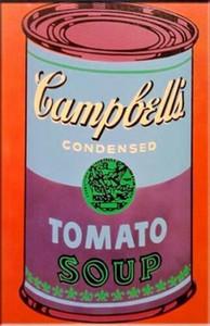 Andy Warhol Handpainted HD Baskı Pop Art Yağlıboya Campbell 'ın Domates Çorbası Tuval Wall Art Ev Deco g64