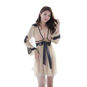 Kadın Pijama Bayanlar Dantel Bornoz Kimono Bkz. Gecelikler Pijama Robe Lingerie Femme Kadınlar Için Bornoz Bath