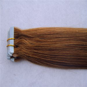 Brazilian Virgin Hair Extensions 8-36 Inchs Remy Human Hair Extensions 2g stand 40pcs pack Tape In Hair Skin Weft