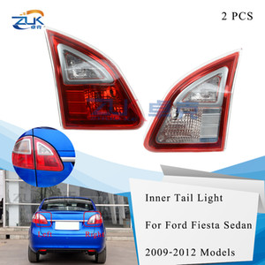 ZUK 2шт внутренний задний бампер задний фонарь лампа внутреннего стоп-сигнала стоп-сигнал для Ford Fiesta седан 2009 2010 2011 2012 задние фонари
