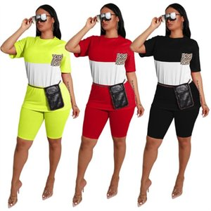 Womens sportswear short sleeve 2 piece set tracksuit jogging sportsuit shirt shorts outfits sweatshirt pants sport suit klw3446