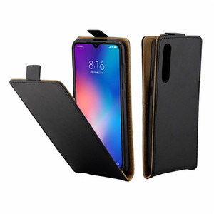 Caso de couro de negócios para xiaomi mi 9 se casos coque tampa da aleta vertical com slot para cartão de telefone móvel sacos