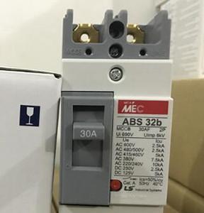 1 PZ Original LS Circuit Breaker 2P ABS32B 10A 15A 20A 30A QTY 5 Per Lotto Nuovo in Scatola Spedizione Gratuita