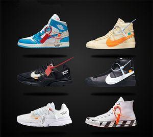 2020 off white Nike converse Top qualité Presto blanc OW blazer 1970 chaussures de toile Air Off pour les hommes Sneakers Casual Shoes A24