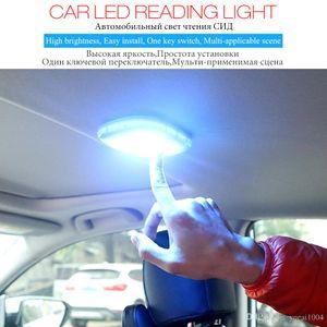 Araç Okuma Kubbe Lambası Fonksiyonlu LED İç Işık Ücretsiz Yenileme Tarihi Manyetik Emiş Işık Taşınabilir Acil Işık İçin Araç Ev
