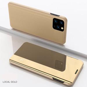 Designer Carteira Capa Para Phone11 Pro Max XR XS MAX Inteligente Espelho Vertical flip-Livre Capa Para Samsung Ultra S20 Além disso S10 S9 S8 Nota 10 Nota 9