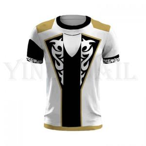 Men and Women Summer T-shirt Tekken 7 3d Print T Shirt for Boys Harajuku Streetwear Claudio Serafino Cosplay Costume Short Shirt