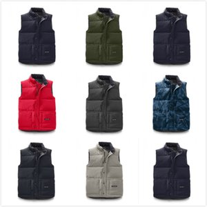 Canada USA style Brand New Hommes freestyle réel plume bas Hiver Mode gilet bodywarmer Advanced Windstopper Tissu Imperméable