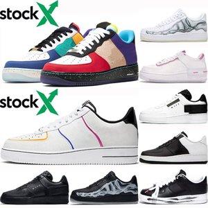 Düşük kesim Dunk Flyline koşu ayakkabıları erkekler kadınlar için ne La Beyaz Siyah iskelet ölü kaykay Ayakkabı eğitmenler spor Sneakers