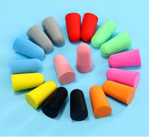 Soft Foam Earplugs Travel Sleep Anti Noise Noise Reduction Classic Ear Plugs Sound Insulation rebound Ear Protection DLH408