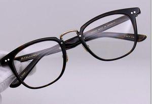 Belight optique Nouveau Femmes Hommes Classique Rétro Acétate Spectacle métalFrame Prescription lunettes cadre optique Lunettes stacy