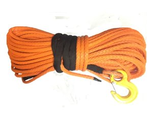"1/2"" x 100' UHMWPE Rope Synthetic Winch Linie mit Haken"