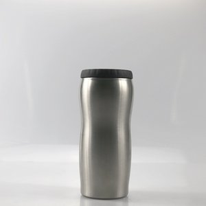 Free Shipping!12OZ Beer Cooler Cola Cooler Cooler Cup Keep Cold Coke Can Holder Stainless Steel Double Layer Vacuum A08