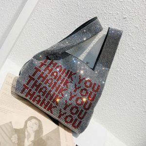 Designer- Freen Versand Frauen LuxuxRhinestone Designer Weste Handtaschen-Qualitäts Art und Weise Bling Bling Clutch-Bag