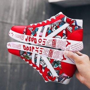 Couple color canvas shoes women's vulcanized shoes comfortable breathable unisex rubber flat shoes Chaussures Femme large size
