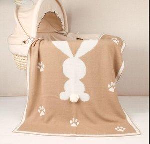 طفل بطانية الوليد الطفل قماط التفاف البطانيات سوبر لينة 3d الأرنب الأرنب أطفال طفل بيبي سرير عربة رمي البطانيات