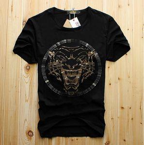 homens por atacado de luxo diamante Design do moda t-shirt dos homens engraçados camisetas topos de algodão de marca e tees cn
