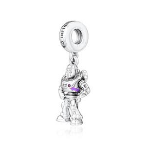 Chegada Nova autêntica prata esterlina 925 Beads Toy zumbido Pendant Dangle encantos caber Original Marca Braceletes Mulheres DIY Jóias