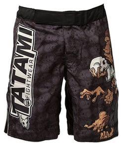 Uomo Pantaloni boxe Stampa MMA Boxing fitness scimmia di personalità traspirante Mens grande le Pantaloni Shorts Thai Boxing corsa guerra Pantaloncini