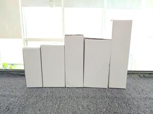 Boîtes d'emballage de la coupe personnalisées de 20oz Skinny Tumbler Box Personnaliser Divers modèles Invite Marchandises Boîtes de pliage blanc pour beaucoup de taille A07