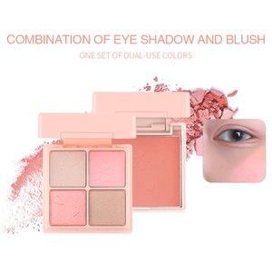 Zoreya Cute Glitter Eyeshadow Blush Pallete Shimmer Waterproof Diamond Shadows Palette Eye Make Up Eye Shadow Cosmetic Matte