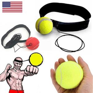 Lutte balle avec la tête de bande Pour Reflex Speed MMA Boxe punch exercice US