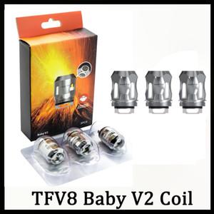 TFV8 Bebê V2 Bobinas A1 A2 A3 Núcleos Cabeças Bebê V2 Bobina de Substituição para TFV8 Bebê V2 Atomizador 0266252