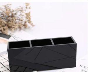 2019 Новый CC 3 Сетки Косметический Держатель Макияж Box Акриловые Женщины Макияж Инструменты Организатор Для Подруги Свадебный Подарок Роскошный Логотип Подарок