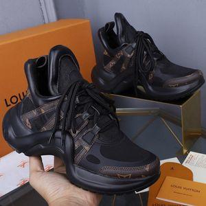 louis vuitton LV Venta caliente de zapatos de pareja tendencia de la moda clásico estilo simple zapatos casuales cómodos hombres mujeres zapatillas multicolor opcional