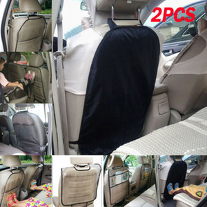 2PCS Car Auto Care Seat Back Protector Cover For Children Kick Mat Mud Clean