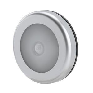 Sensor de movimiento PIR 6 LED bajo luz del gabinete de cocina Dormitorio inalámbrica magnética Armario luz del sensor de la escalera de la lámpara luz de la noche