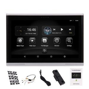 "Android 6.0-Monitor Kopfstütze Multimedia 10.1"" 1080P HD Touchscreen-Unterstützung TV FM USB / SD CD Build-Lautsprecher im Fond-Kopfstütze Auto"