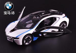 1:32 regalo libre de los niños de juguete coches modelo para los niños Coches Miniaturas Tire J190525 Volver coche B-mw