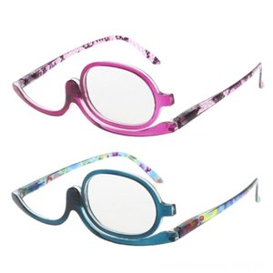 Women Makeup Reading Glasses Rotatable Flip Make Up Eye Glasses Presbyopic 100 To 40 Other Fashion Accessories