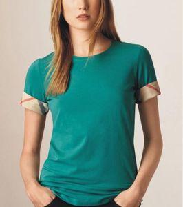T-Shirt manica corta in cotone da donna nuova 2019 T-shirt manica corta da donna alta qualità 100% casual S-XXL bgfhk