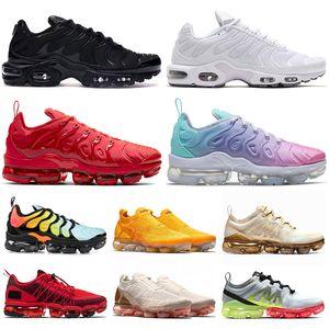 Free Run nike air vapormax 2019 Tn plus Hornets Almofadas Mens Formadores Calçados Femininos Grape Sliver Triplo Preto White Shark disso Womens Sports Sneakers