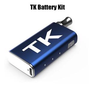 Kit de batería TK ZTC Smoke Vape Kit 400mAh Precalentar batería VV para cartuchos de aceite grueso Vape Carts E Cigarette Battery Mod Kits
