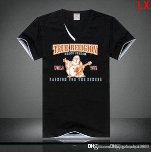 blanc mens vrai t-shirt noir T Sumrme Vêtements Hommes Mode T-shirt RELIGIONING Homme T-shirts 100% coton taille-3XL