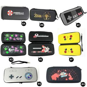 Для Nintendo Switch NS EVA Hard Shell Travel Carry Case Защитная Крышка Сумка Для Хранения Сумка для Переключателя Консоли Ручка 11 Цветов
