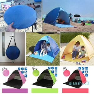 Wholesale- Hiking Camping Tents Outdoors Shelters 50+ UV Protection Tent for Beach Travel Lawn Home 10 PCS DHL Fedex Shipping