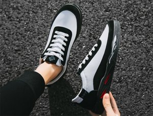 2019 Hot Sale Breathable sneakers foreign trade explosion models canvas shoes students outdoor warm men's shoes factory
