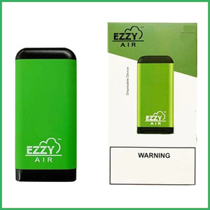 EZZY air Glow Disposable Device With 500puffs Pod 450mAh Vape Pen 8 Colors Disposable E Cigarettes Empty With Security Code LED Light